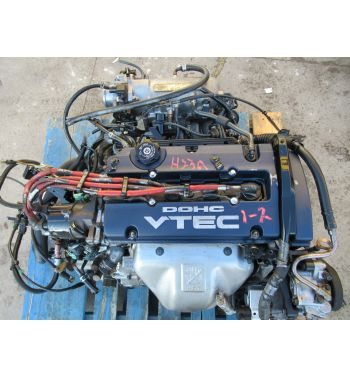 HONDA PRELUDE ACCORD H22A OBD1 AUTOMATIC ENGINE PACKAGE H22A ... on dodge sprinter engine harness, suspension harness, oem engine wire harness, hoist harness, engine harmonic balancer, engine control module, bmw 2 8 engine wire harness,