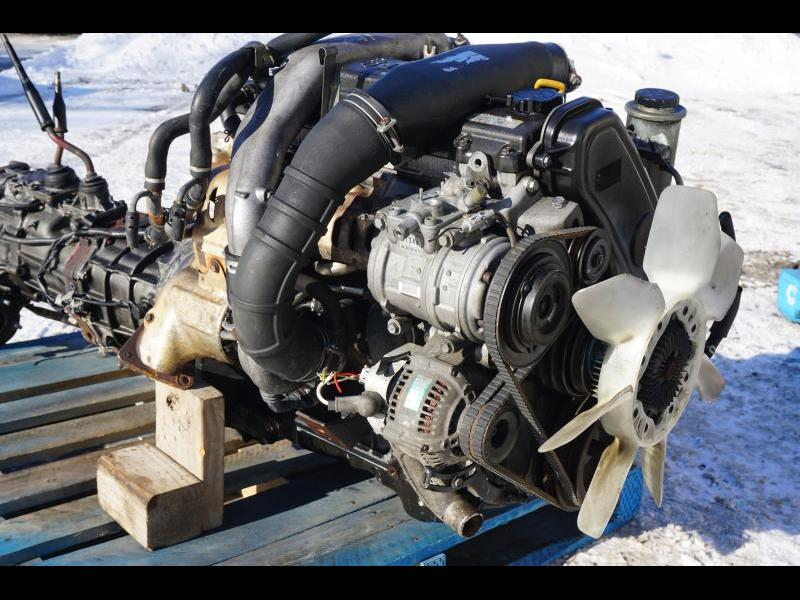 Jdm Toyota Hilux 1KZ-TE Turbo Diesel Engine with Manual 4wd Transmission