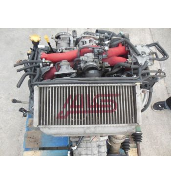 Jdm STi EJ207 Twin Scroll VF37 Engine Version 9 Motor 6 speed TY856WB7KA