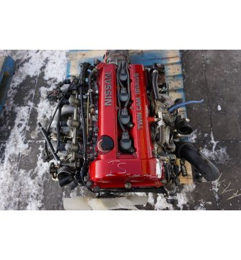 Jdm Nissan 180sx 240sx SR20DET Engine 5 Speed Transmission Turbo