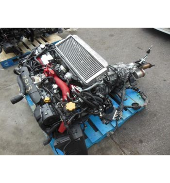 2008-2014 STi EJ207 Version 10 Engine Twin Scroll VF49 STI V10 Motor 6 speed GRB