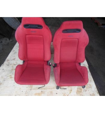 Jdm Integra Type R Recaro Seats Dc2 Red Recaro Seats With Rails Type R