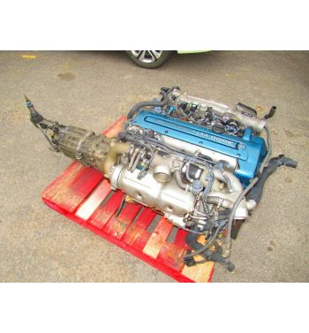 JDM Toyota Supra 2JZGTE VVTI Engine 6 Speed Getrag Transmission