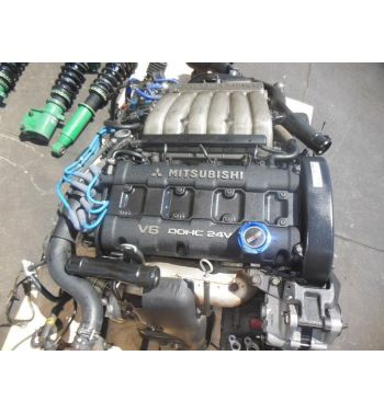 JDM 94-97 6G72 Mitsubishi 3000GT VR4 Twin Turbo Engine 3.0L V6