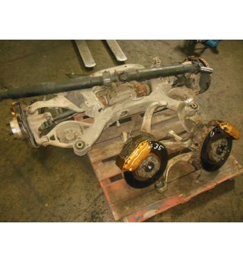 03-07 JDM Infiniti G35 Coupe Rear Subframe Differential Axles G35 Brembo Brakes
