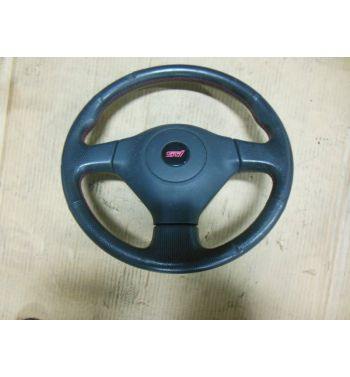 2002 - 2007 Subaru Impreza WRX STI OEM Leather Steering Wheel SRS Airbag STI GD