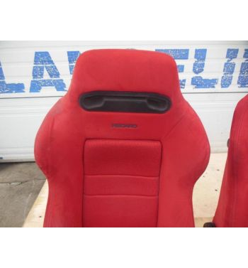 JDM Integra Type R Recaro Front Seats, Rails, Bracket, Seats DC2 Recaro Seats