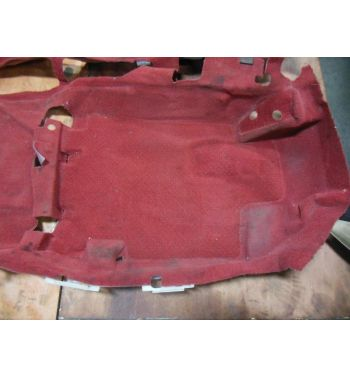 JDM Honda Civic EK9 Type R RED Floor Carpet 96-00 Civic Hatchback Floor Carpet