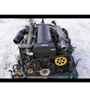 JDM Toyota 1JZ-GTE  Turbo Non-VVTi Front Sump 2.5L Engine With R154 Transmission