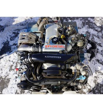 JDM Toyota Hilux 2L 2L-TE Turbo Diesel Engine with 4x4 Manual Transmission