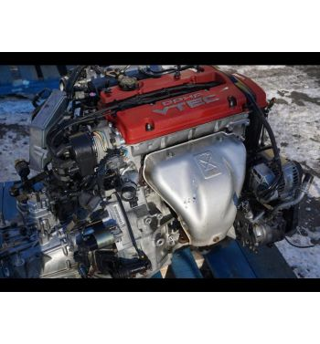 Jdm Honda Prelude H22a Type S Engine with Manual T2W4 Lsd Transmission