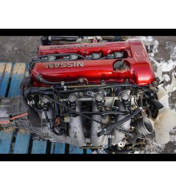 Jdm Nissan 180sx 240sx SR20DET REDTOP Engine 5 Speed Transmission Turbo 2.0L