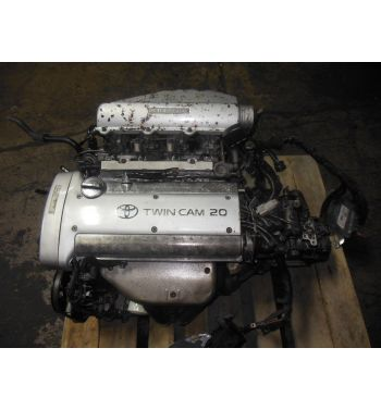 Jdm Toyota Corolla 4AGE Silver Top Engine JDM 4AGE 20Valve