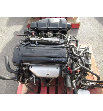 Jdm Toyota Corolla Levin 4AGE BlackTop 20 Valve Engine Automatic