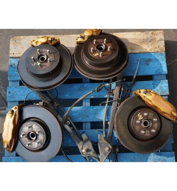 JDM Wrx STi Brembo Brake Kit Front and Rear 5x100