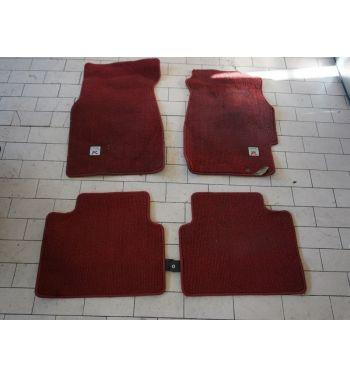 JDM HONDA CIVIC EK9 TYPE R RED FLOOR MATS TYPE R EK9 TYPE R