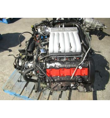 1990-1992 Mitsubishi 3000GT 6G72 Twin Turbo Engine MT