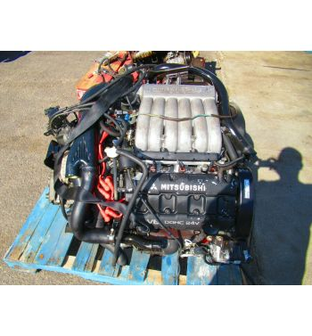 JDM Mitsubishi 3000gt GTO 6g72 TT Twin Turbo Engine Getrag 6