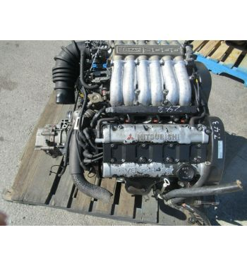 JDM 90-92 Mitsubishi 3000GT Dodge Stealth 6G72 Engine 5speed awd