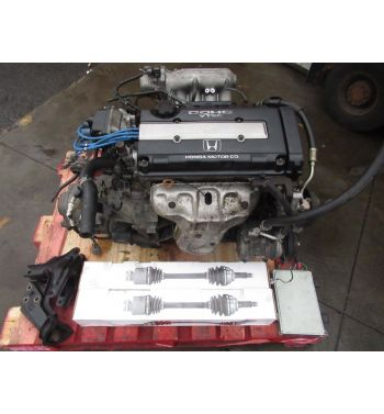JDM Honda Civic B16a Obd2 Engine Transmission 5speed , Axles