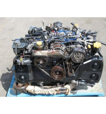1995 JDM IMPREZA WRX STI EJ20G ENGINE 5 SPEED TY752VB3FA