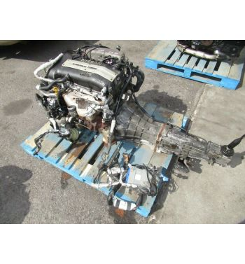 JDM NISSAN SR20DET S14 KOUKI ENGINE 5SPEED TRANSMISSION 240SX SWAP S14