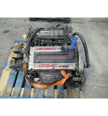 88 92 MITSUBISHI MIRAGE 1.6L DOHC TURBO ENGINE JDM 4G61
