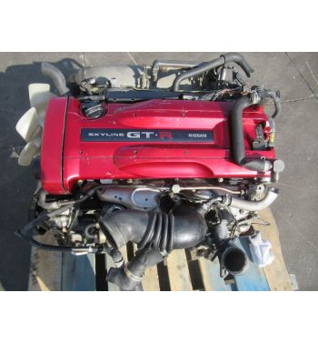 JDM NISSAN SKYLINE R34 GTR RB26DET ENGINE RB26DET ENGINE BNR34
