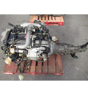 JDM NISSAN SKYLINE R34 GTT RB25DET NEO ENGINE 5 SPEED MANUAL