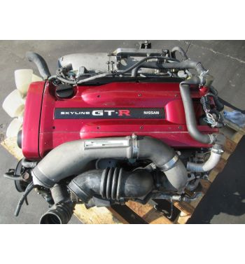 JDM NISSAN SKYLINE R34 GTR RB26DET ENGINE JDM RB26DET TWIN TURBO