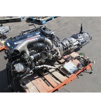 JDM NISSAN SKYLINE GTR R32 RB26DET ENGINE AWD TRANSMISSION JDM