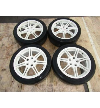 JDM 02-05 Honda Civic Type R EP3 Rims Wheels and Tires 17×7