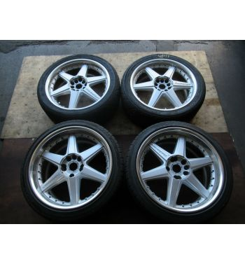 Racing Hart 18x8JJ +40 235/40/18 ,18X9.5JJ +38 235/40/18 WHEELS