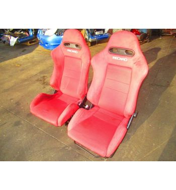 JDM 2002-2006 HONDA INTEGRA TYPE R RSX DC5 RED RECARO SEATS