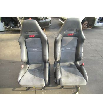 2008-2014 Subaru Impreza WRX STi Recaro Seats With Rails R205