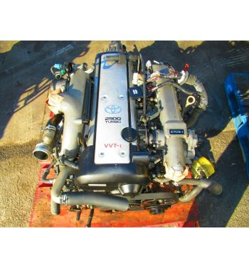 JDM TOYOTA 1JZGTE VVTI TURBO ENGINE 1JZGT SINGLE TURBO FRONT SUM