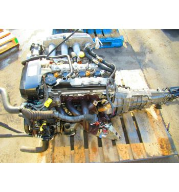 Jdm Toyota Altezza 3SGE Beams Engine 6 Speed Transmission Gen-5
