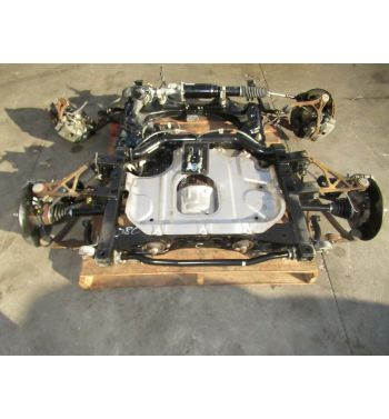 2002 Honda S2000 Complete Undercarriage (Front & Rear Subframes, Axles, Brakes, Hubs, Rotor)
