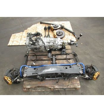 2006 Subaru Impreza WRX STi 6-Speed DCCD Transmission (3.90FD) w. Brembo Calipers, Axles, Driveshaft & Roters