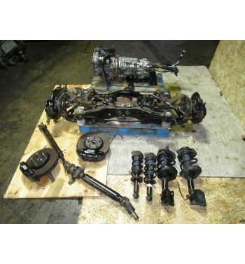 2013 SUBARU IMPREZA WRX STI 6 SPEED TRANSMISSION R180 DIFFERENTIAL, BREMBOS 08-14