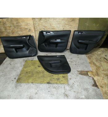 2013 SUBARU WRX STI OEM FRONT REAR DOOR PANELS