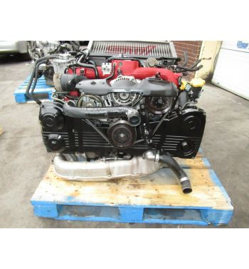 2006 2007 Subaru Impreza STI EJ207 Engine Version 9 VF37 Turbo 2.0L Motor JDM V9