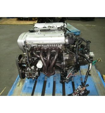 Jdm Toyota Corolla Levin 4AGE Silver Top 20 Valve Engine 5speed Transmission Ecu