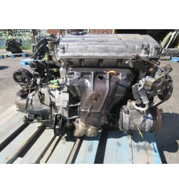1988-1991 Honda Civic B16a Obd0 Engine 5 Speed Transmission JDM B16A Obd0