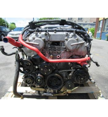 JDM VQ35DE NISSAN 350Z Z33 ENGINE 6 SPEED TRANSMISSION CD009 INFINITY G35 3.5L