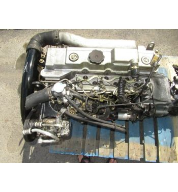 JDM Mitsubishi Canter 4M40 2.8L Diesel Engine 5 Speed Manual Transmission 4M40KC