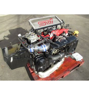 2005 SUBARU WRX STi EJ207 2.0L Turbo Engine Version 8 Ecu ZEROSPORTS AIR INTAKE