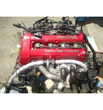 JDM NISSAN SR20DET S13 ENGINE 5SPEED TRANSMISSION + GT28 TURBO + SHORT SHIFTER