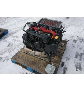 2004 JDM SUBARU WRX STI EJ207 ENGINE STI VERSION 8 ENGINE EJ207 TURBO ECU V-8
