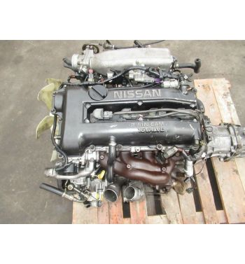 1995 NISSAN 240SX SR20DET S14 ENGINE TRANSMISSION TURBO GT28 CLEAN MOTOR S14